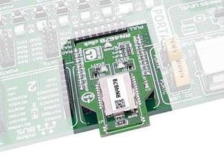 Bluetooth Classic and LE (BLE) デュアル通信搭載クリックボード [CLICK-BT-DUAL]-マイクロテクニカ